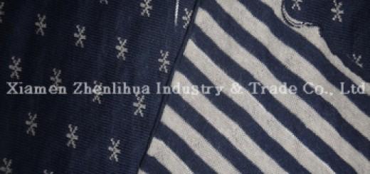 35-china-cotton-jacquard-knitting-fabric-strip-stars-double-face-jc32s-68inch-240g