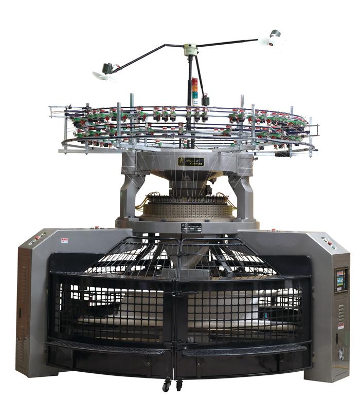 knitting machine operator description